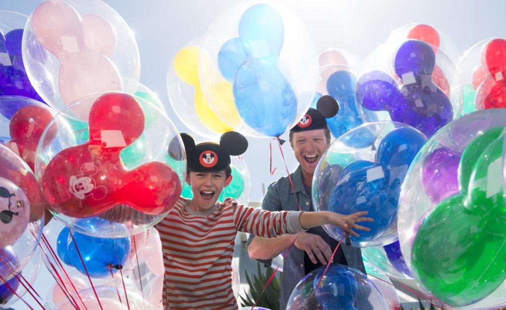 Disneyland Hotel Ballons