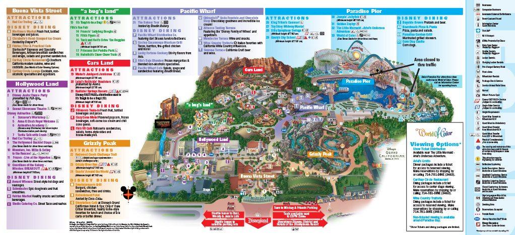 Disney Ca Adventure Restaurants