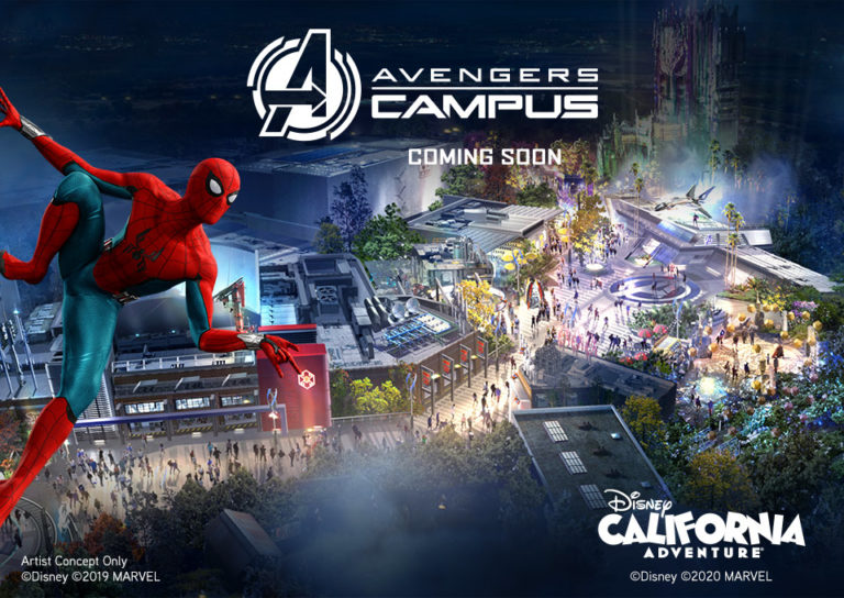 Avengers Campus Opening Soon
